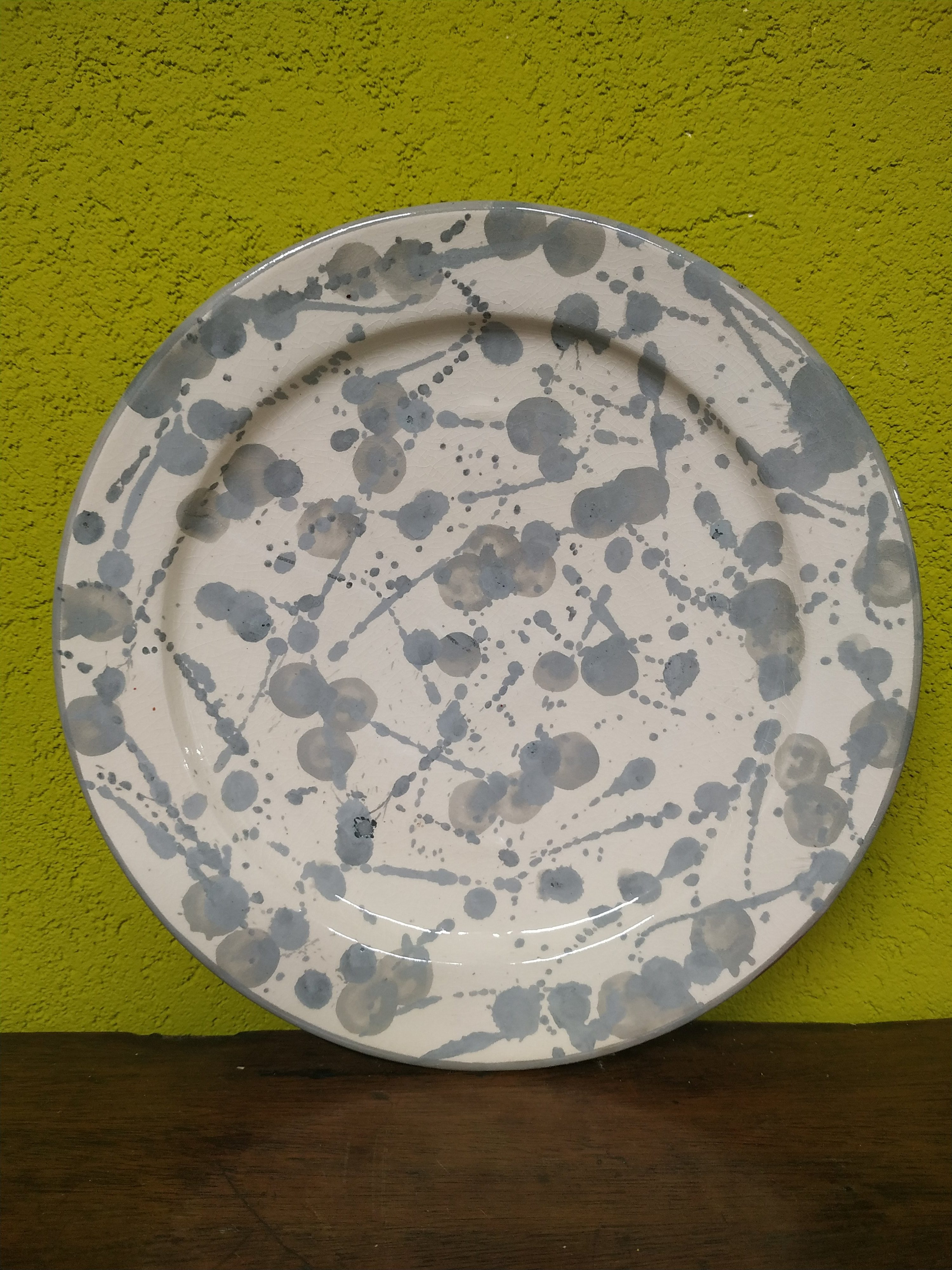 Come Appendere Piatti In Ceramica piatto m - ceramica safi, fatto e dipinto a mano